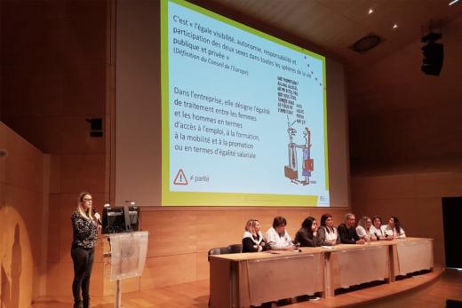 L'égalité professionnelle au coeur de la stratégie QVT du CHU de Nice